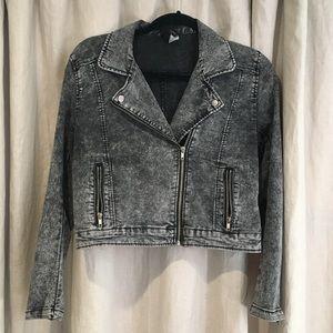 HM Moto Jacket Grey